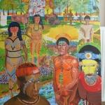 Paradis du peuple primitif avant finition
