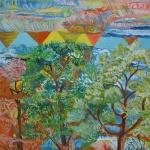 66 Art brut (balisage du ciel par le chandelier a sept branches)