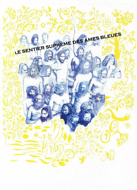Couverture d'ouvrage: Le sentier suprême des âmes bleues