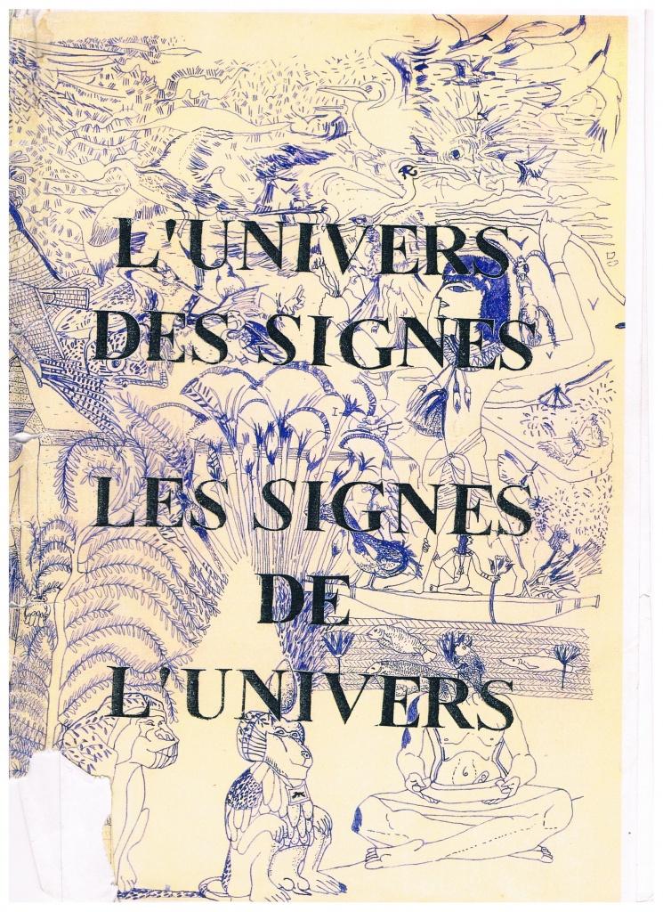 Couverture d'ouvrage: L'univers des signes, les signes de l'univers